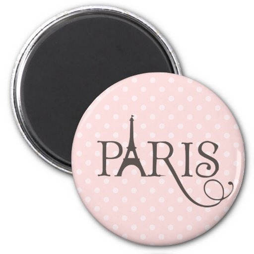 Fancy Paris Fridge Magnets