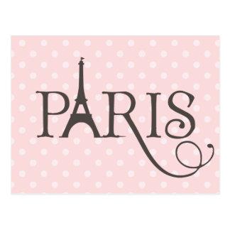 Fancy Paris Postcard