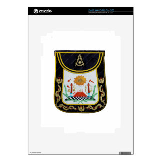 Fancy Past Masters Apron iPad 2 Decal