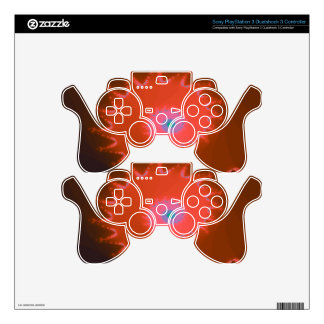 Fancy Peach Natalus Fractal Skins For PS3 Controllers