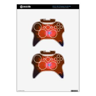 Fancy Peach Natalus Fractal Xbox 360 Controller Skins