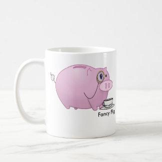 Fancy Pig Coffee Mug
