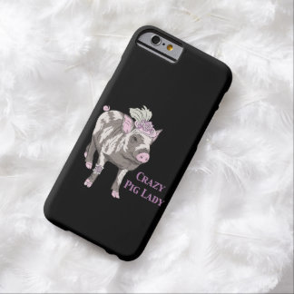 Fancy Pig Lady Barely There iPhone 6 Case