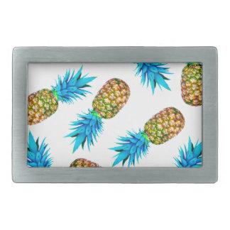 Fancy pineapples belt buckle
