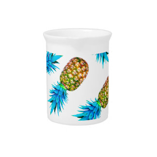 Fancy pineapples pitcher