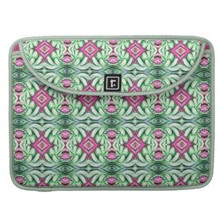 fancy pink diamond mint green MacBook Sleeve Case Sleeve For MacBook Pro