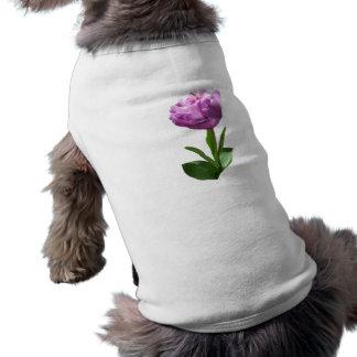 Fancy Pink Tulip Dog Tee