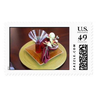 Fancy Place Setting Postage