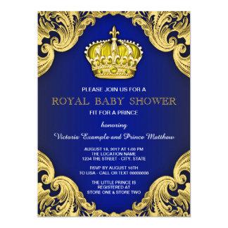 Prince Theme Baby Shower Invitations & Announcements | Zazzle