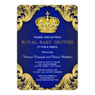 royal baby shower invitations announcements zazzle