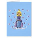Fancy Princess Greeting Card