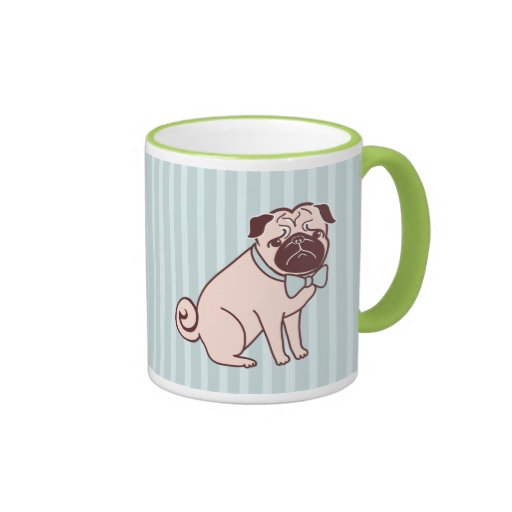 Fancy pug mug by fluff zazzle - Fancy travel coffee mugs ...