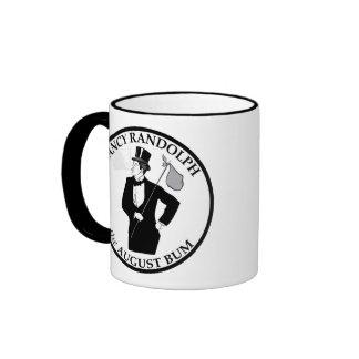 Fancy Randolph the August Bum Ringer Coffee Mug