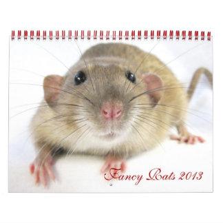 Fancy Rats 2013 Calendar