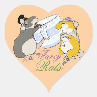 Fancy Rats Heart Sticker
