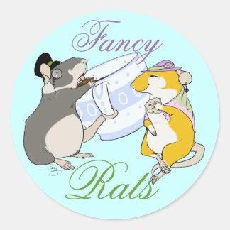 Fancy Rats Classic Round Sticker