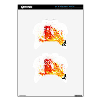 Fancy Rooster Art 4 Xbox 360 Controller Decal