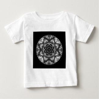 Fancy Round Design on Black. Shirt
