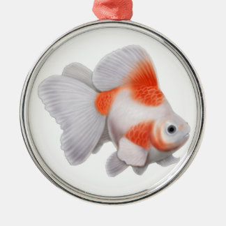 Fancy Ryukin Fantail Goldfish Ornament