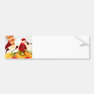 Fancy Schmany Sundae Treat Bumper Sticker