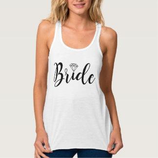 Fancy Script Typography | Bride Tank Top