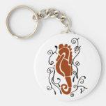 Fancy sea horse key chain