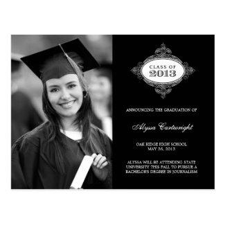 Fancy Seal Graduation Announcement /Invite Postcards