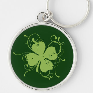 Fancy Shamrock Keychain