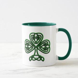 Fancy Shamrock Mug