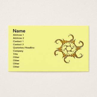 FANCY SHAPE 1 BUSINESS CARD