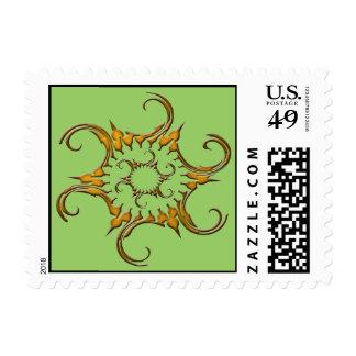 FANCY SHAPE 1 POSTAGE STAMPS