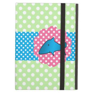 Fancy shark polka dots iPad air case