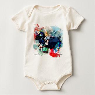 Fancy Shawl Dancer Baby Bodysuit