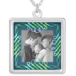 Fancy Silver Plated Necklace