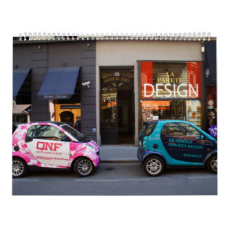 Fancy Smart Cars Wall Calendar