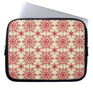 Fancy Snowflakes Holiday Laptop & Netbook Sleeves