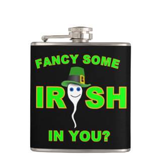 FANCY SOME IRISH IN YOU? HIP FLASK