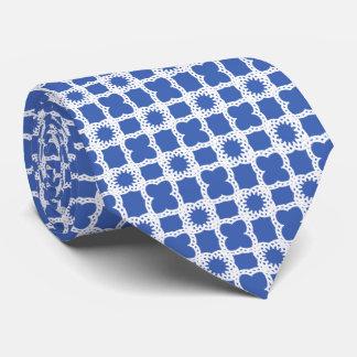 Fancy Square Pattern Neck Tie
