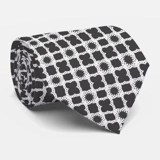 Fancy Square Pattern Tie