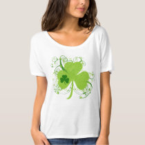 Fancy St Patricks Day Shamrock T-Shirt