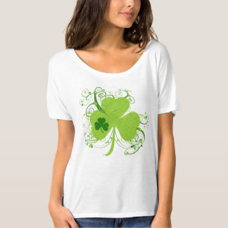 Fancy St Patricks Day Shamrock T-Shirt