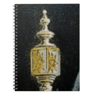 fancy street light notebook