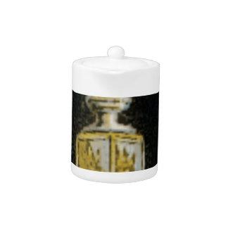 fancy street light teapot