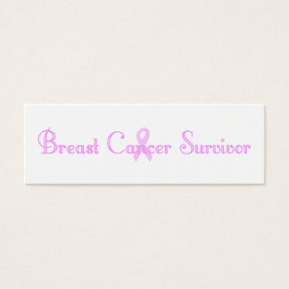 Fancy Survivor Bookmark Mini Business Card
