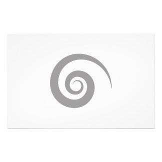 Fancy Swirl Stationary Stationery