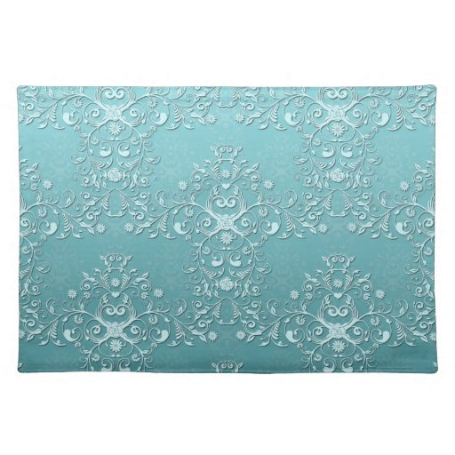 Fancy Teal Aqua Turquoise and White Damask Placemat Zazzle : fancytealaquaturquoiseandwhitedamaskplacemat re3a2ab88989b49dab9cc3c30679a922f2cfku8byvr512 from www.zazzle.com size 512 x 512 jpeg 71kB