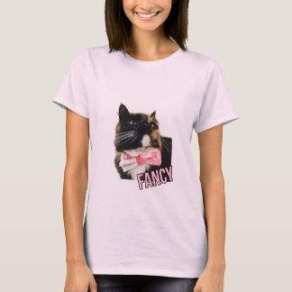 Fancy-Tortie Cat T-Shirt