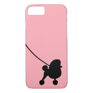 Fancy Toy Poodle Silhouette iPhone 7 Case