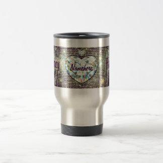 Fancy Travel Mug! Add your Name! Travel Mug