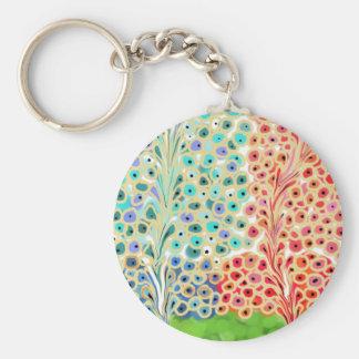 Fancy Trees Keychain